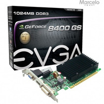 Placa Vga 1gb Nvidia Geforce 8400gs Evga Gddr3 Com Garantia