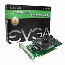 Placa De Vídeo Geforce 9800gt 1gb Gddr3 256 Bits Pci-e Evga