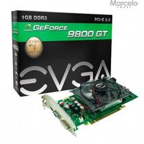 Placa Vga Nvidia Geforce 9800gt 1gb Evga Gddr3 12x Sem Juros
