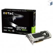 Placa De Vídeo 6gb Zotac Geforce Gtx 980ti Ddr5 Com Garantia