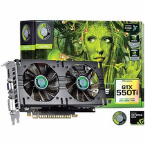 Placa De Video Geforce Gtx 550 Ti Dual-fan 1gb Gddr5 192bits