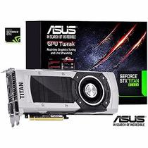 Placa De Vídeo Asus Gtx Titan Black 6gb Ddr5 384 Bit + Nfe