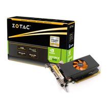 Placa De Vídeo Vga Zotac Geforce Gt640 1gb Ddr5 64 Bits