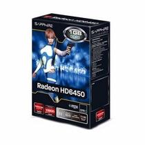 Gpu Sapphire Amd Radeon Hd 6450 1gb Ddr3 Hdmi - Curitiba
