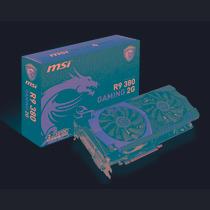 Placa Vídeo Msi Radeon R9 380 2gb Ddr5 256bits Mania Virtual