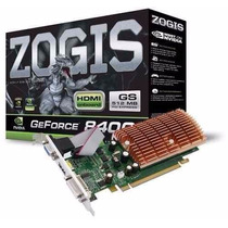 Placa De Vídeo Zogis Geforce 8400gs 512mb Ddr2 C/ Hdmi