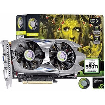 Placa Vídeo Geforce Gtx 550 Ti 1gb Gddr5 192 Bits Hdmi Dual
