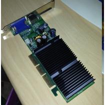 Placa De Video 128mb Agp - Ge Force Fx-5200 Nvidea