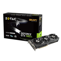 Geforce Gtx 980ti Amp 6gb Ddr5 384bit 7010mhz Zotac