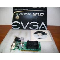 A463 Placa De Video Gforce Evga 210 1gb Ddr3