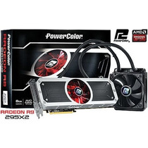 Placa De Video Radeon R9 295x2 8gb Gddr5 512 Bits Water Coo