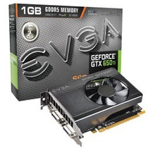 Placa De Vídeo Evga Geforce Gtx650 Ti Ssc 1gb Ddr5 128 Bits