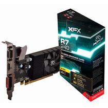 Placa De Vídeo R7 240d 2gb Ddr3 Radeon Low Profile Xfx