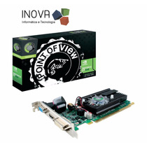 Placa De Video Pci-e 1gb 64b Geforce 210 Ddr2 Point
