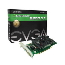 Placa Video Evga 9800gt 1gb 256bit 9800 Gt 1 Gb Ddr3 Nota F