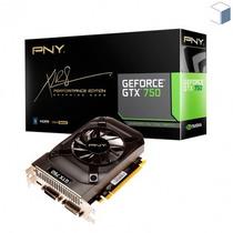 Placa De Vídeo Pny Geforce Gtx 750 1gb Vcggtx7501xpb-port