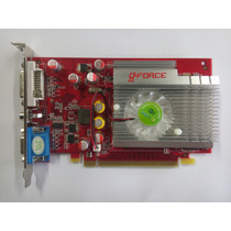 Placa Video Pci Express 7200/7300 256mb Ddr2 Nvidia Gforce