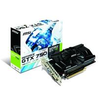 Placa De Video Msi Geforce Gtx 750 1gb Gddr5 128bits