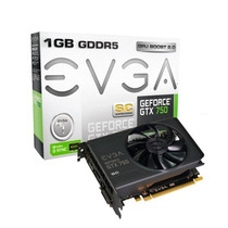 Placa De Video Geforce Gtx 750 Sc Evga Gddr5 1gb Sem Juros