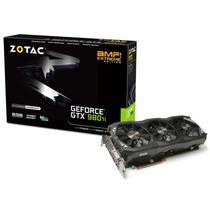 Geforce Zotac Gtx Entusiasta Nvidia Gtx 980ti Amp! Extreme