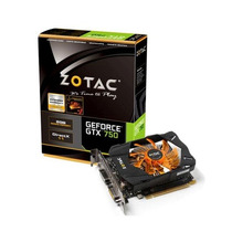 Placa De Vídeo Nvidia Geforce Gtx750 2gb Ddr5 128bits Zotac