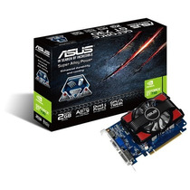 Placa De Vídeo Geforce Asus Gt730, 2gb, Ddr3 Mania Virtual