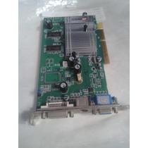 Placa De Vídeo Agp8x 256mb Ati Radeon 955 R9550 128bits