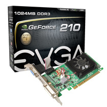 Placa Vídeo Evga Gt210 Geforce 1gb 01g-p3-1312-lr Gt 210