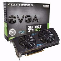 Geforce Evga Gtx Nvidia 04g-p4-2978-kr Gtx 970 Ftw 4gb Ddr5