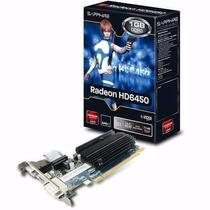 Radeon Hd6450 1gb Ddr3 Sapphire Low Profile