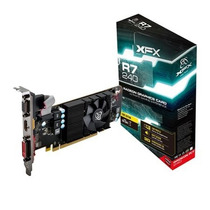 Placa De Vídeo Vga Xfx Radeon R7 240 2gb Ddr3 128-bits Pc...