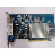 Placa Vídeo Agp Xfx - Geforce Mx4000 128mb / 64bit / Gddr
