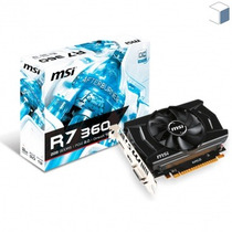 Placa De Vídeo 2gb Msi Radeon R7 360 Gddr5 Envio Grátis