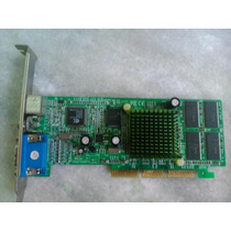 Placa De Video Agp Gf Mx 400 64m
