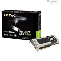 Placa Vga Geforce Gtx 980ti 6gb Zotac 384 Bits Frete Grátis