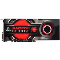 Placa De Vídeo Ati Radeon Hd6870 Xfx 1gb Gddr5 256bits