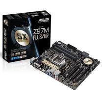 Placa Mãe Asus Micro Atx Intel Lga 1150 Z97m-p Mania Virtual