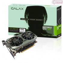 Vga Galax Geforce Gtx 960 2gb Lacrado 128 Bit 12x Sem Juros