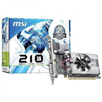 Placa De Video Msi Geforce 210 1gb Ddr3