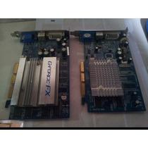 Placa De Vídeo Geforce Agp Fx5200 128mb Ddr Vga Dvi