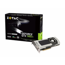 Placa De Video Geforce Zotac Gtx 980ti 6gb Ddr5 1000mhz