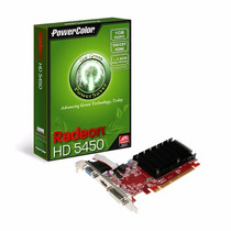 Placa De Video Ati Radeon Hd 5450 Color 1gb 64bit Ddr3