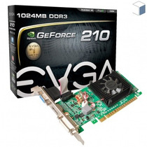 Placa De Vídeo Evga Geforce Gt 210 64bits Gddr3 Original