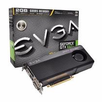 Placa De Vídeo Vga Evga Geforce Gtx 660ti 2gb Nvidia Nova!