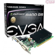 Placa De Vídeo Evga Geforce 8400gs 1gb 64 Bits Com Garantia