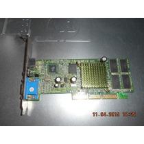 Placa Video Nvidia Mx400 Agp Pv-t07g-dt (412)