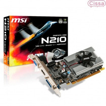 Placa De Video Geforce Gt210 Msi Directx 10.1 12x Sem Juros