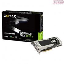 Placa De Vídeo Geforce Gtx 980ti 6gb Zotac Ddr5 Zt-90501-10p