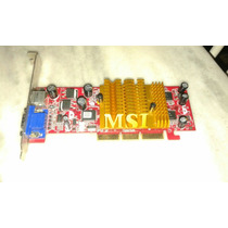 Placa De Video Msi Mx4000