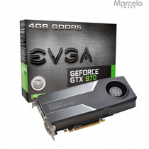 Placa Vga 4gb Geforce Gtx 970 Evga Fonte Recomendada 500w
